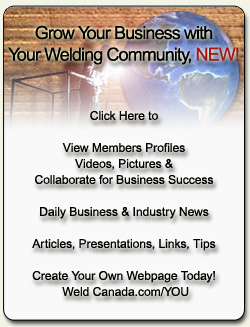 Welding Community Login